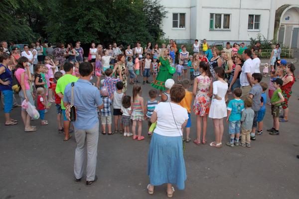 Праздник двора 8 июля 2015