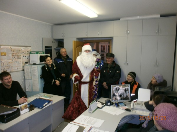 Дед Мороз посетил ТСЖ