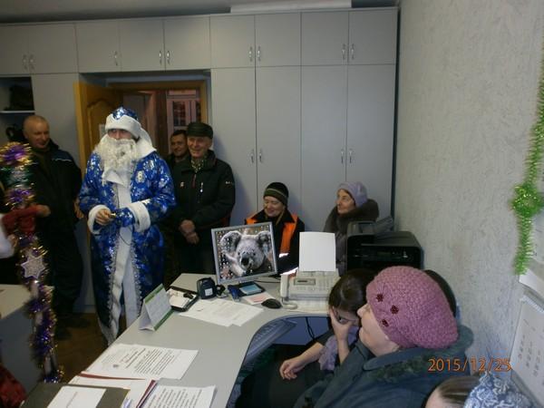 Дед Мороз в ТСЖ