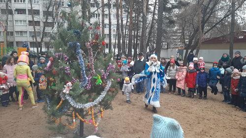 Праздник двора 28 декабря 2019.