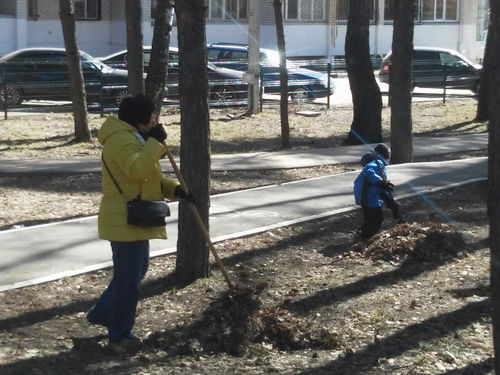 Субботник 13 апреля 2018 г.